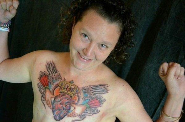Масштабная татуировка