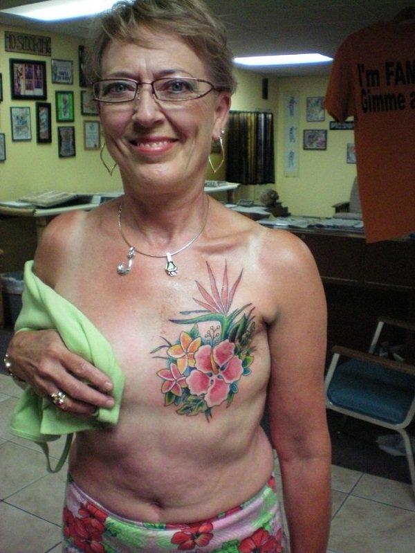 Татуировка после мастэктомии